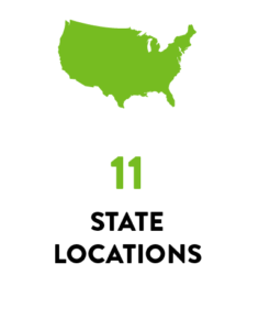 Location: 11 States