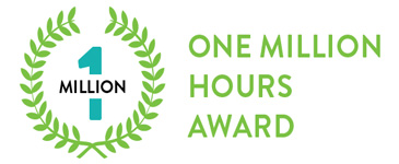 Workplace Safety Award - One Million Hours